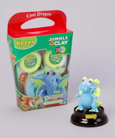 Zizi Shiny Eyes Cool Dragon Clay Kit