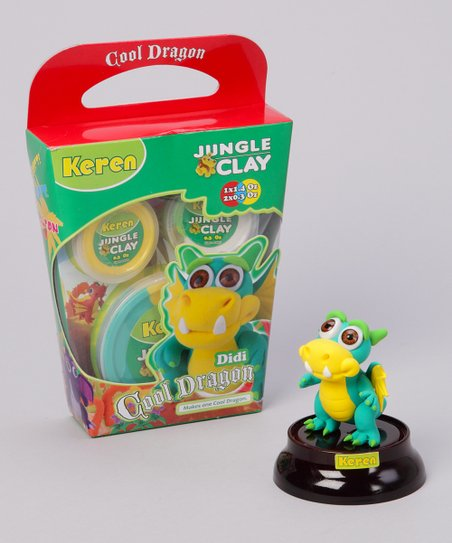 Didi Shiny Eyes Cool Dragon Clay Kit