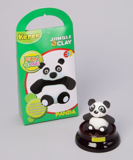 Panda Jungle Clay Kit