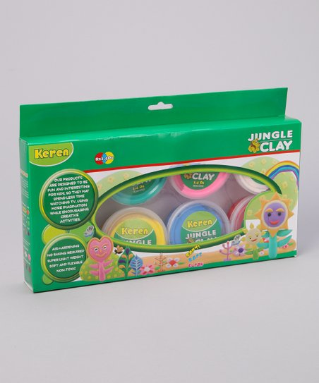 Sea Life Jungle Clay Kit