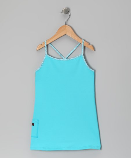 Turquoise Tunic - Infant, Toddler & Girls