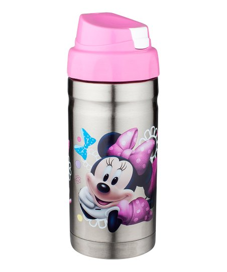 Pink Minnie Mouse Stainless Steel Canteen