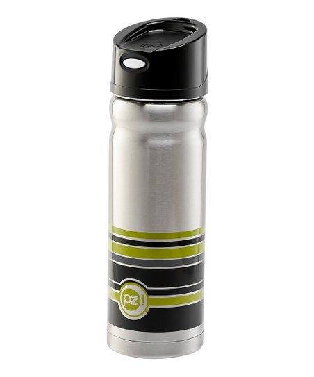 Geo Stripe 16-Oz. Pop Lid Vista Insulated Travel Mug