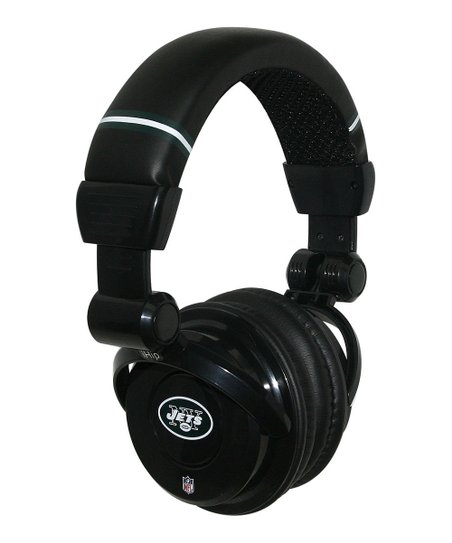 New York Jets Microphone Headphones