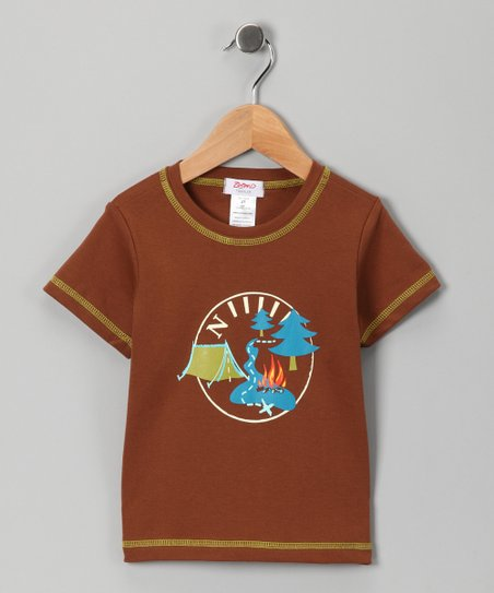 Chocolate Yosemite Tee - Toddler