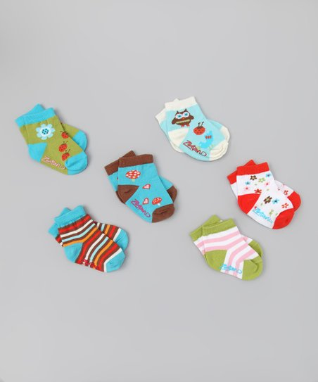 Critter Friends Ankle Socks Set