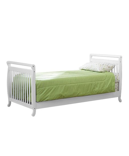 White Jacob Twin Bed Frame
