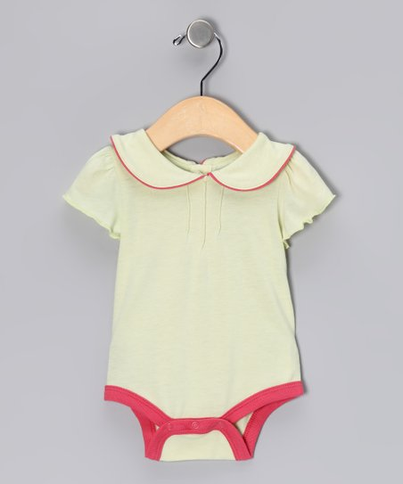Tea Collar Soy Bodysuit - Infant