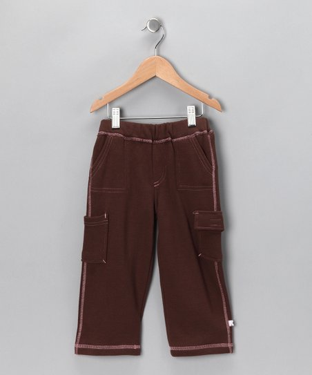 Chocolate & Petal Soy Cargo Pants - Toddler