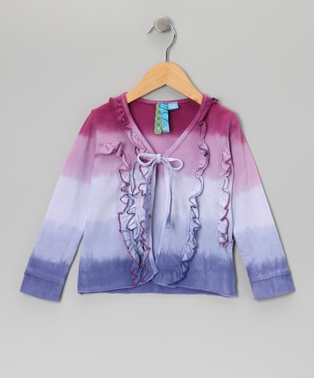 Periwinkle Stripe Cardigan - Toddler & Girls