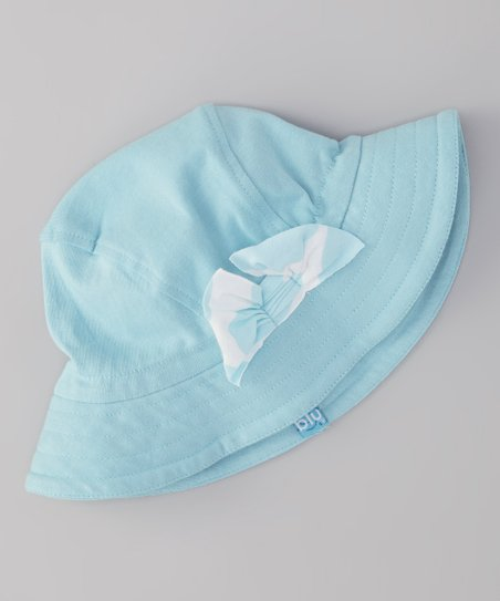 Turquoise Ribbon Sunhat