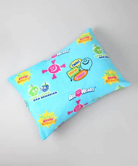 Aqua Airheads Plush Pillow Sham