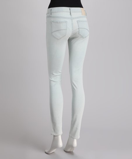 driftWood Light Blue Super Bleach Skinny Jeans
