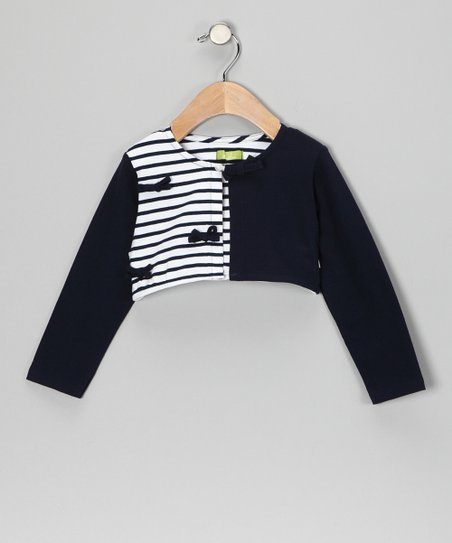 Marino Stripe Bolero - Infant, Toddler & Girls