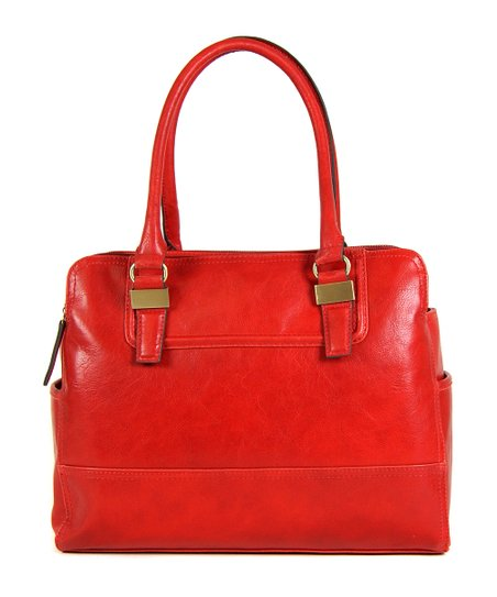 Cherry Red Maddox Shoulder Bag
