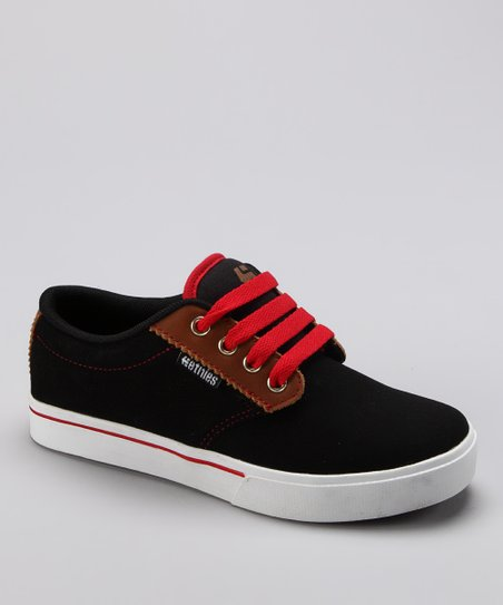 etnies Black & Brown Jameson 2 Sneaker