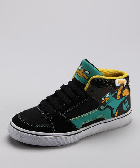 etnies Black &amp; Blue Disney RVM Vulc Sneaker