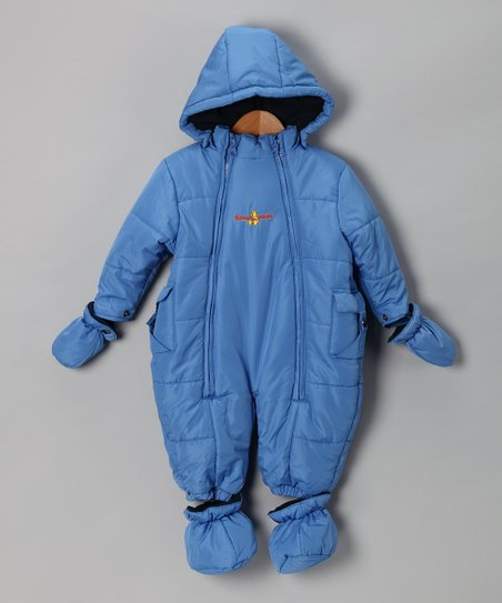 Blue Snowsuit - Infant