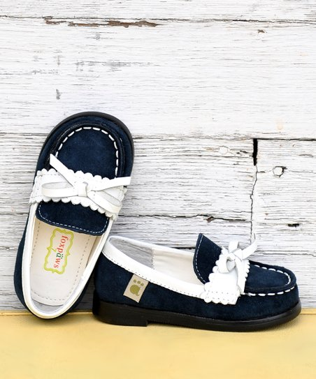 Navy Blue Cambridge Loafer