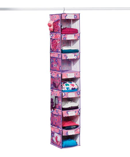 Floral Seven-Shelf Hanging Organizer