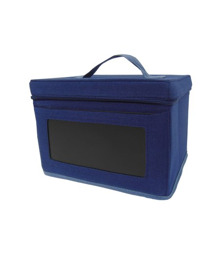 Navy & Blue Small Chalkboard Box