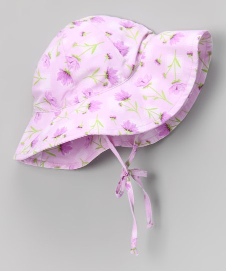 Lavender Floral Sunhat