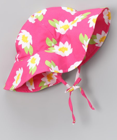 Hot Pink Lotus Sunhat