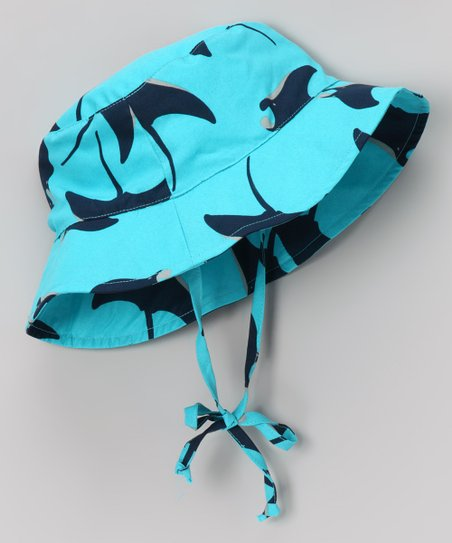 Aqua Stingray Sunhat