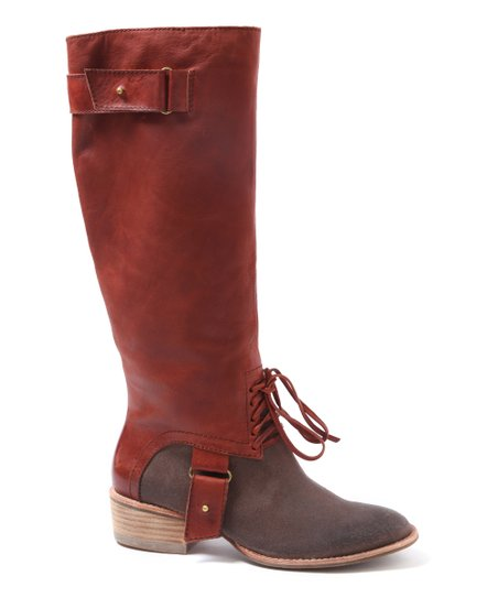 Cognac Boast Riding Boot