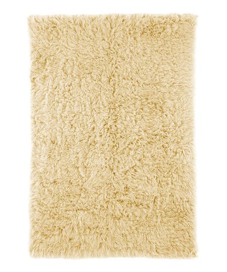 Natural Greek Flokati Wool Rug