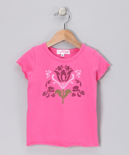 Pink Flower Tee - Toddler & Girls