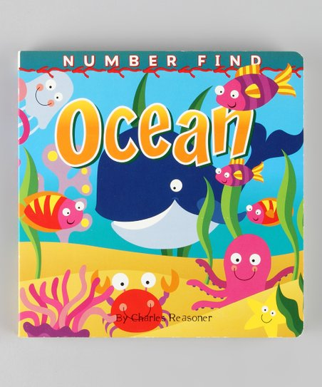 Number Find: Ocean Board Book