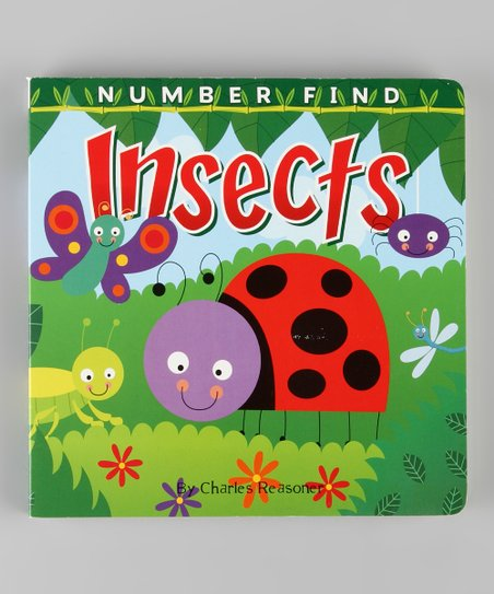Number Find: Insects Board Book