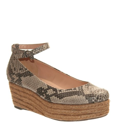 nicole Medium Taupe Gusty Platform