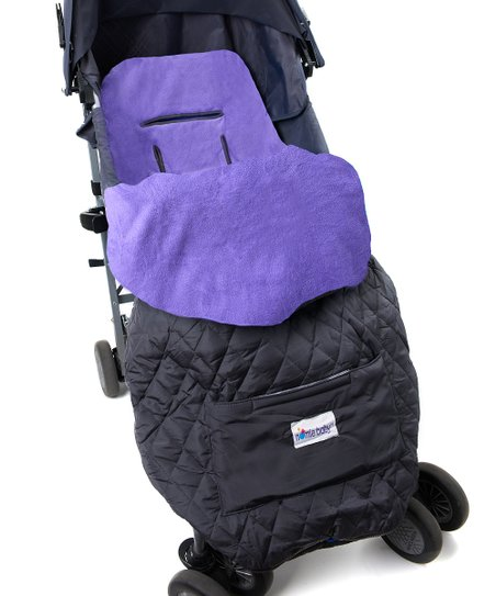 Purple Toddler Stroller Blanket