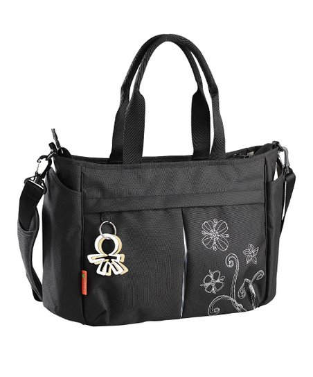 Black Twinkle Metro Crossbody Diaper Bag