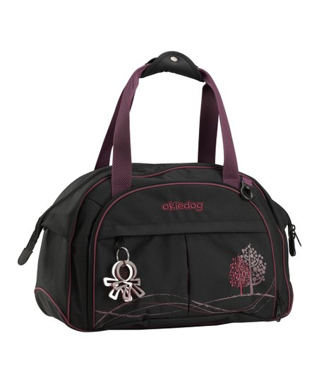 Black &amp; Purple Dahoma Shuttle Diaper Bag