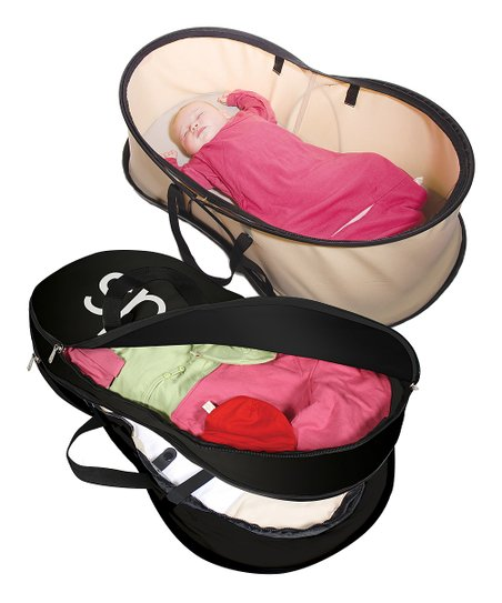 phil&teds Beige Nest Portable Bassinet & Bag Set