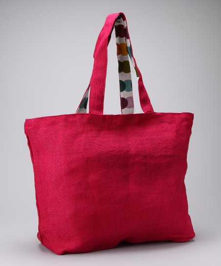 Hot Pink Kaleidoscope Tote