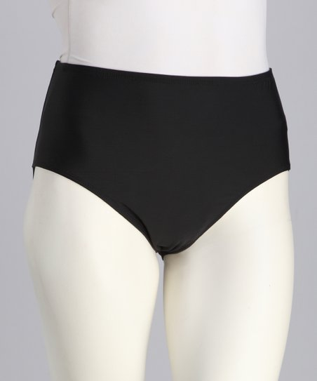 Black Bikini Bottoms - Women & Plus