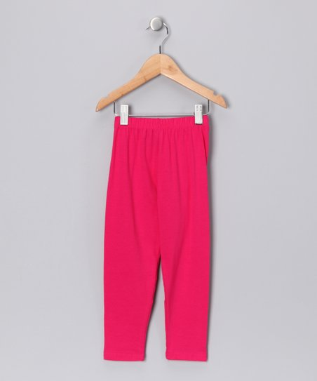 Fuchsia Leggings - Toddler & Girls