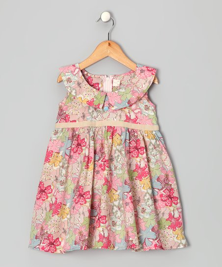 Pink Elizabeth Dress - Toddler