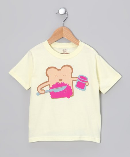 Soft Yellow Delicious Tee - Toddler & Kids