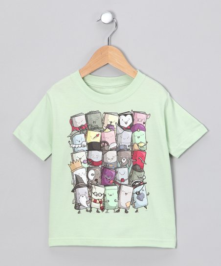 Soft Green Storytellers Tee - Toddler