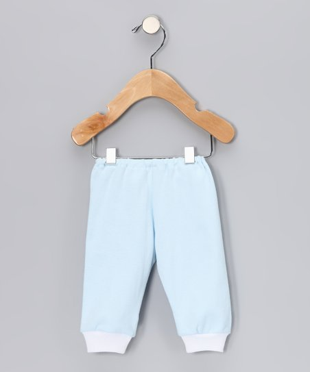 Light Blue Cuff Pants