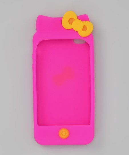 Dark Pink Kitten Case for iPhone 4/4S