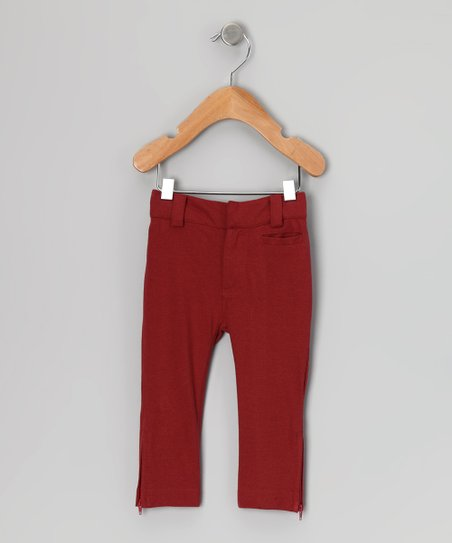 Russet Pencil Organic Pants - Infant