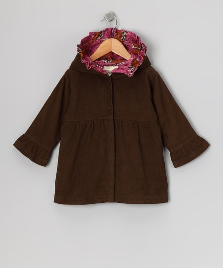 Caper Corduroy Ruffle Organic Jacket - Infant & Toddler