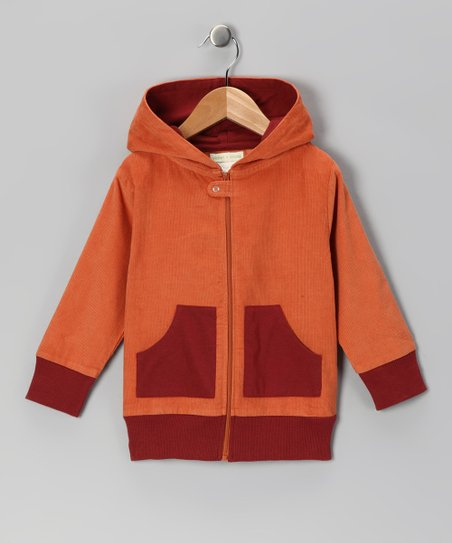 Brandy Patch Organic Zip-Up Hoodie - Infant