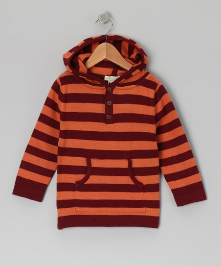 Russet Sweater Kanga Pocket Organic Hoodie - Infant